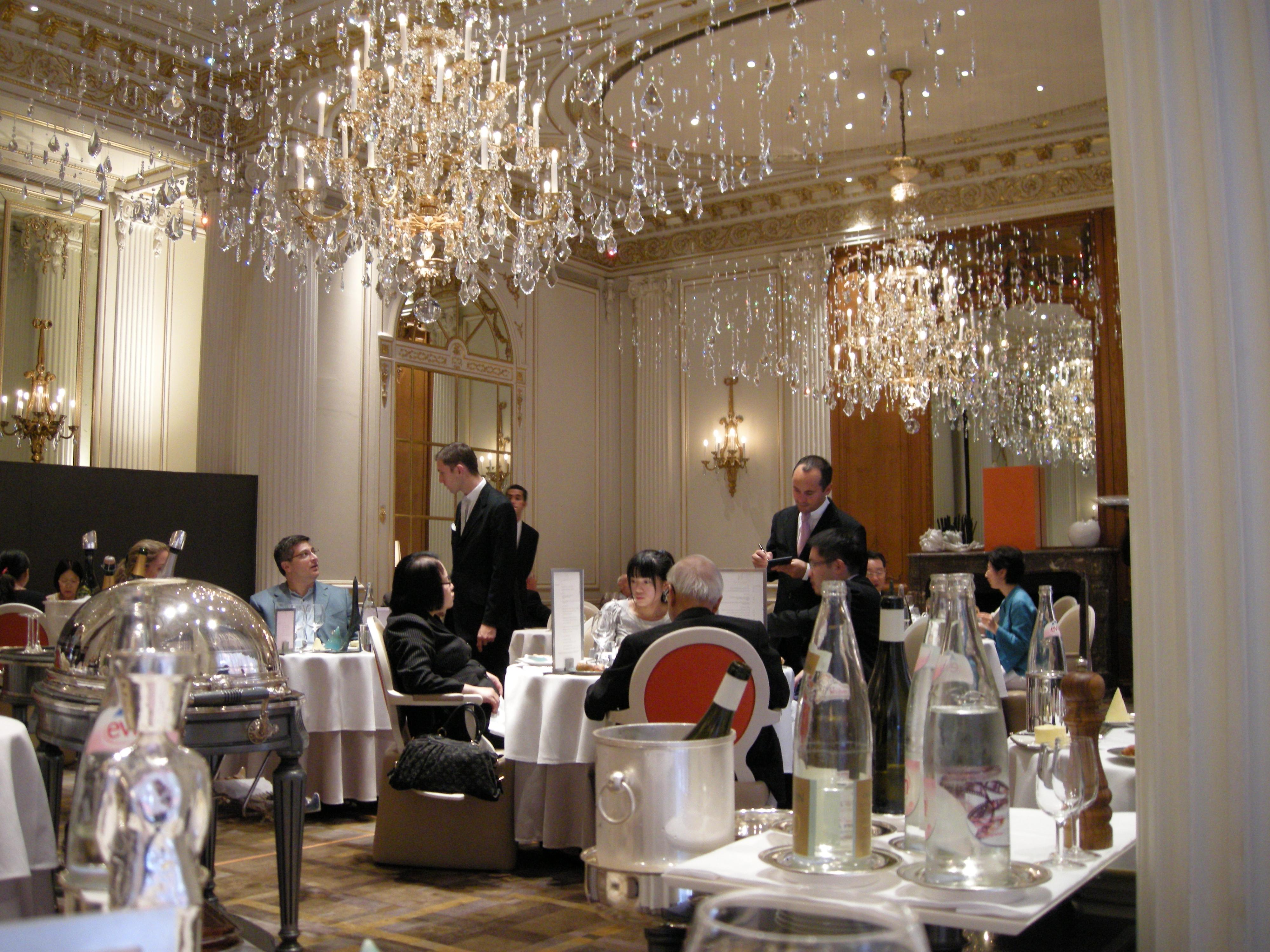 Restaurant Le Louis Xv Alain Ducasse Monte Carlo Etoiles