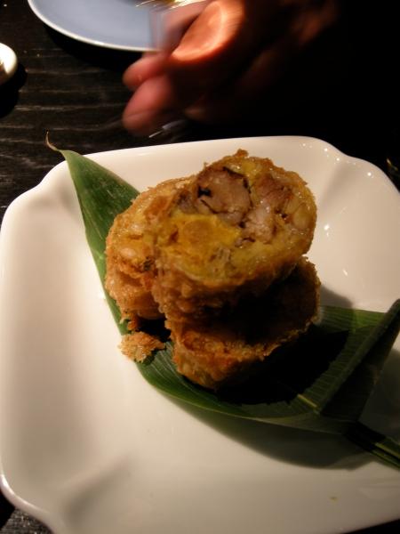 sticky rice roll