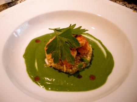 homard, quinoa