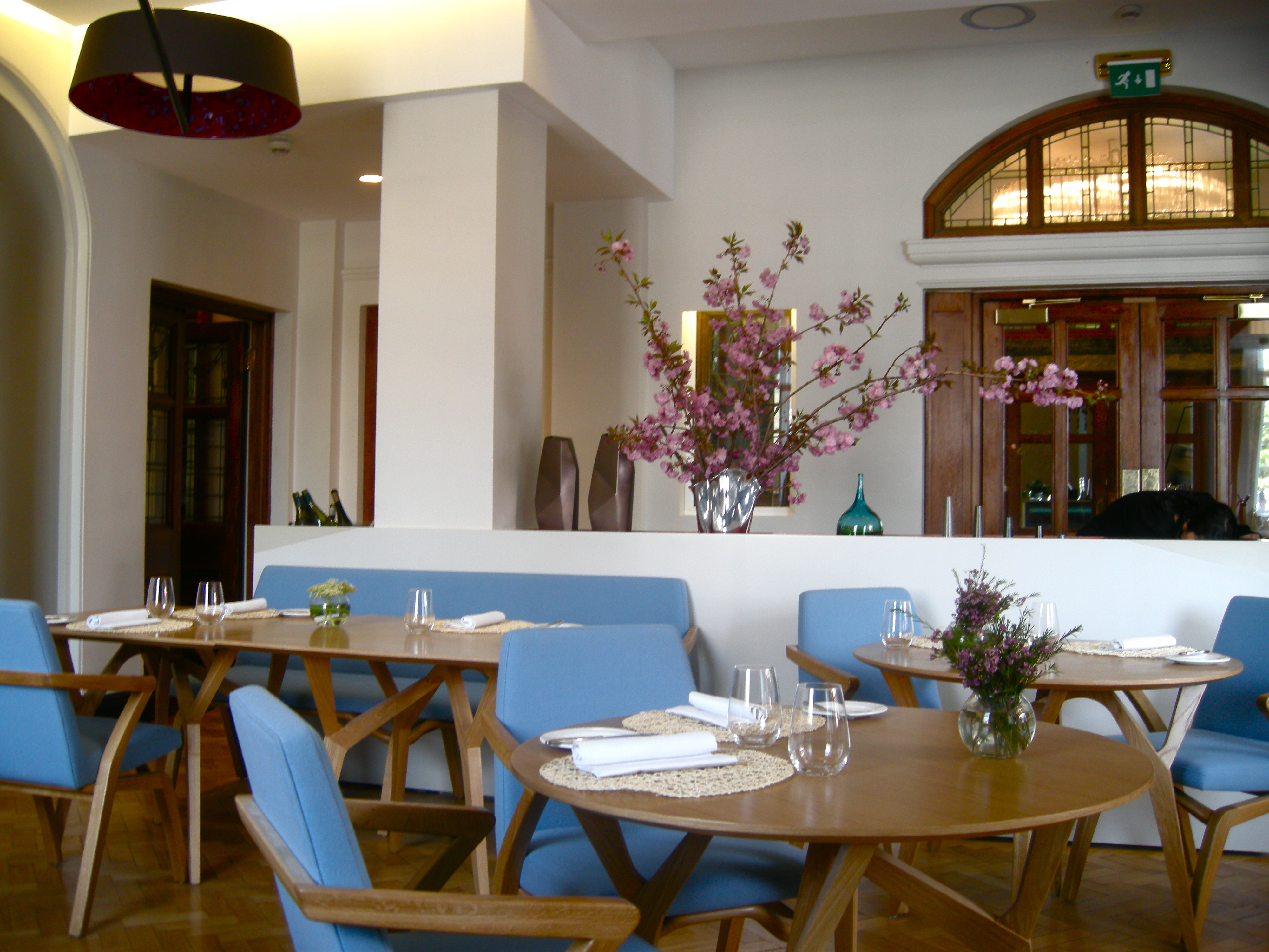 Viajante london felixhirsch 39 s tour de table for Amenagement cuisine restaurant